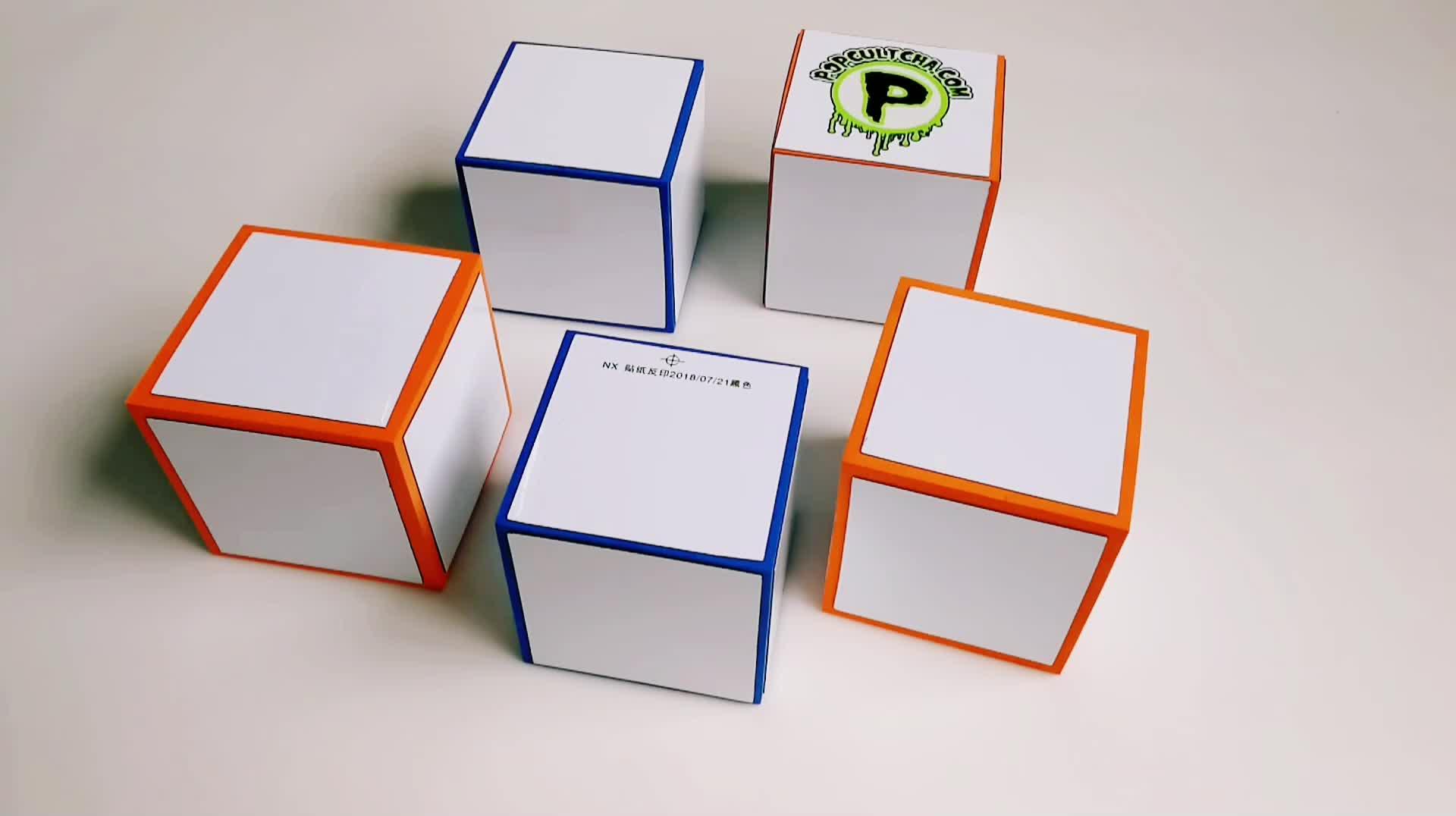 Custom foam Dry Erase Blocks set for kids educational toy