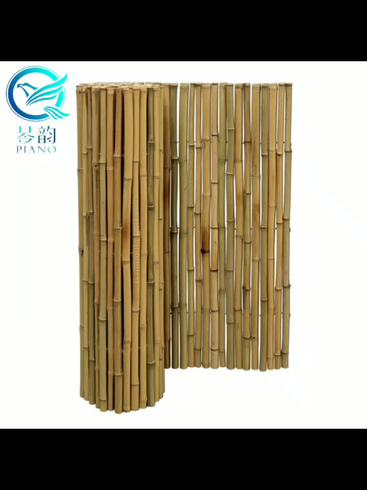 cheap bamboo woven screen  for garden decoration