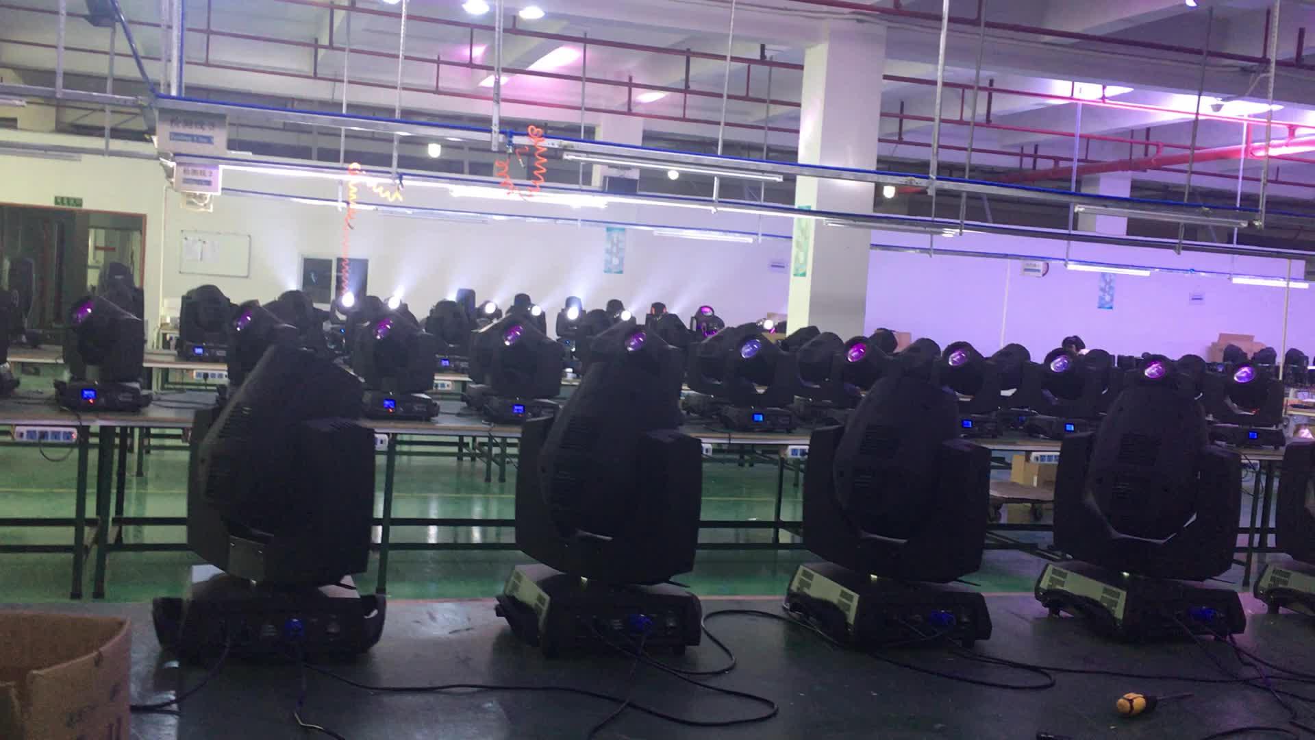 จีนผู้ผลิตขายร้อน moving head beam 200 5r