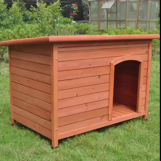 Wholesale Luxury Large Outdoor Cheap Chinese Wooden Dog House