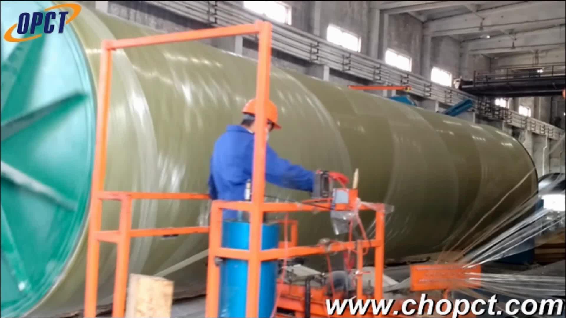 FRP/GRP Fiberglass PIPE DN1200 DN2400 DN4000