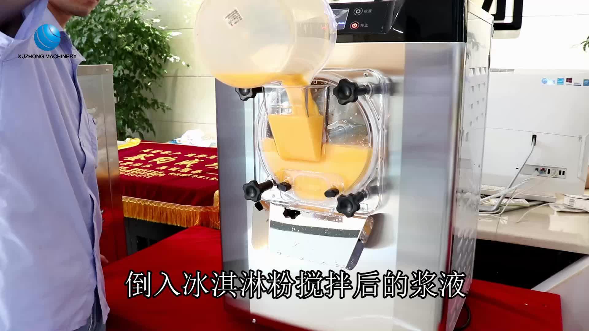 economic table top gelato machine hard ice cream machine commercial