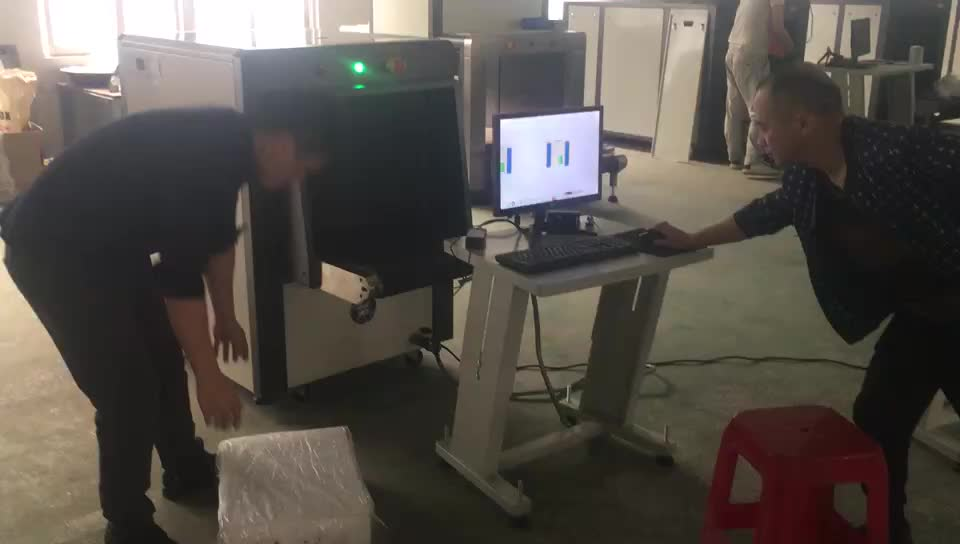 ISO9001 China super manufacturer X-ray baggage scanner, airport security inspection systems machine TS-6040