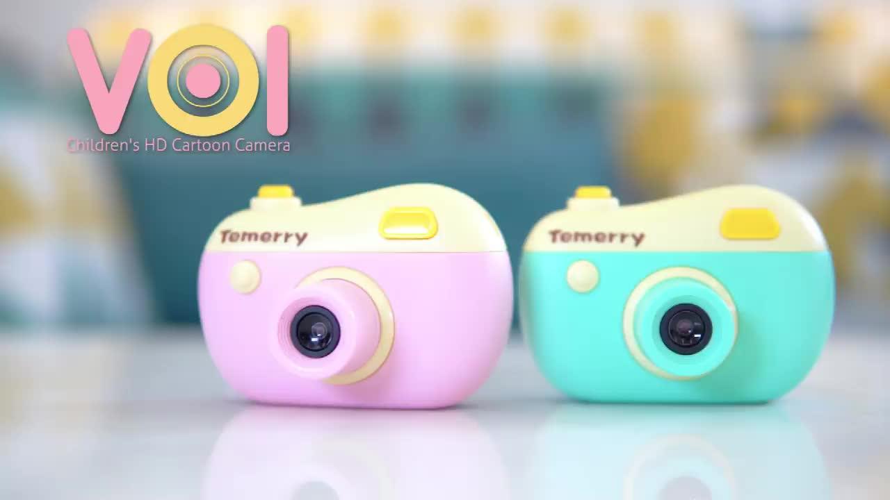 HD Mini Professionnel Enfants Vidéo appareil photo Numérique Avec Multifonctionnel