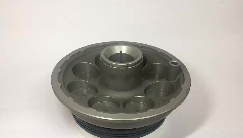 Densen Customized gravity casting or Low Pressure Casting and Surface oxidation treatment  Aluminum alloy Shaft cover