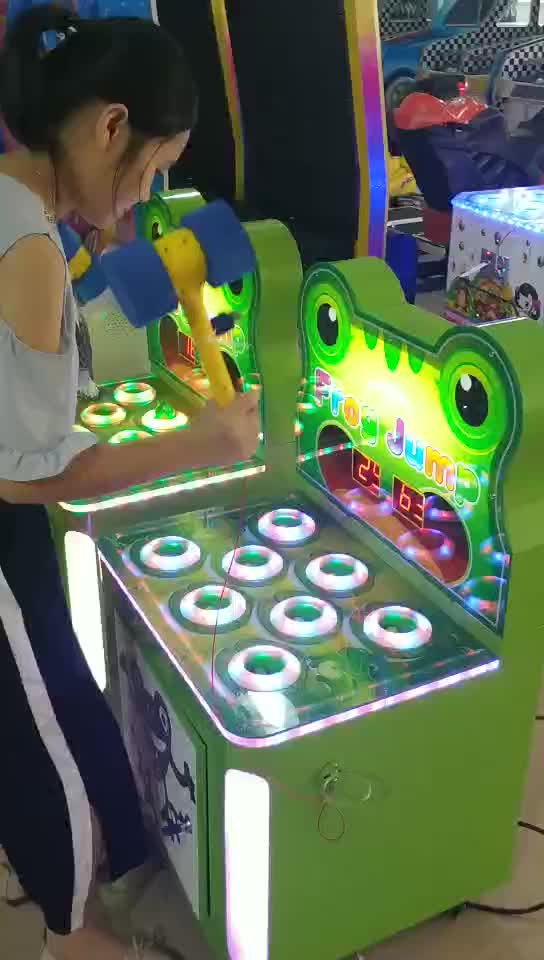 Factory price coin operated hit the frog mini arcade game machine for game center