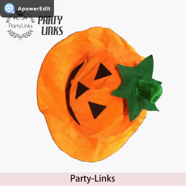 Newest Fashion Hat The Spinous Pumpkin Hat Halloween Carnival Hat