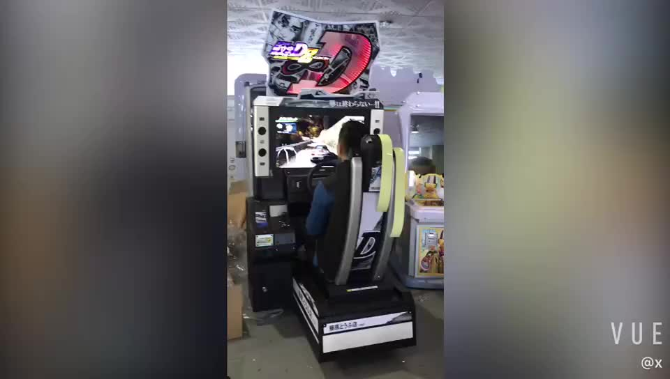 Elektronik Video Simulator Koin Dioperasikan Awal D 8 Arcade Game Balap Mobil Mesin untuk Game Center