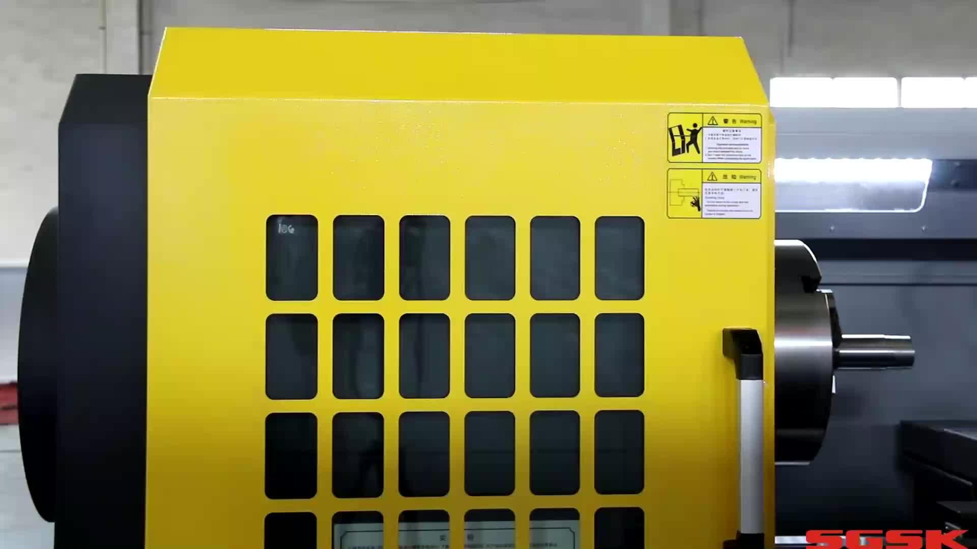 CAK6150V cnc automatic lathe 6150 machine turning price
