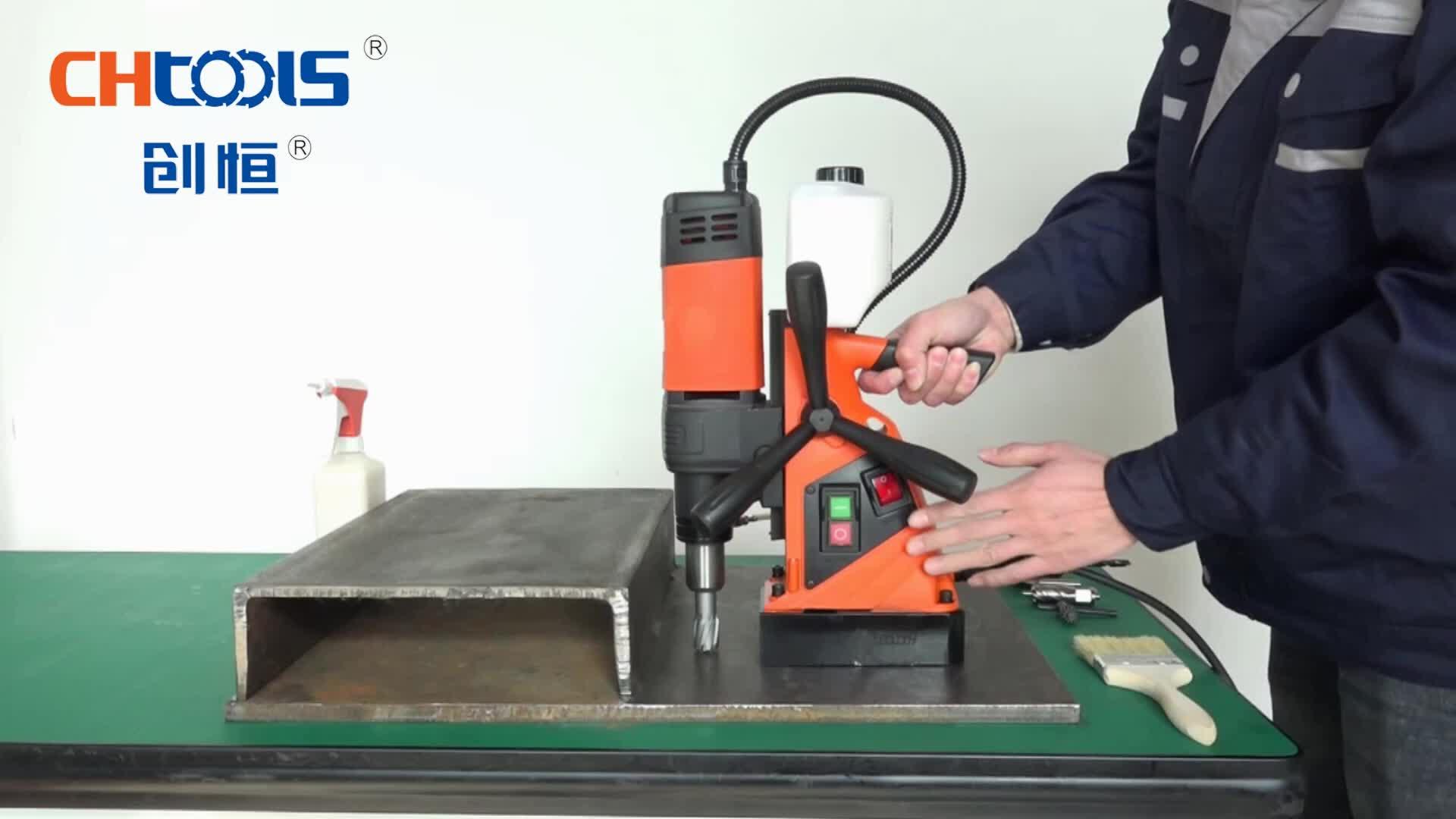 Chtools CE Chứng Nhận Hình Khuyên Cutter Magnetic Khoan Dx35