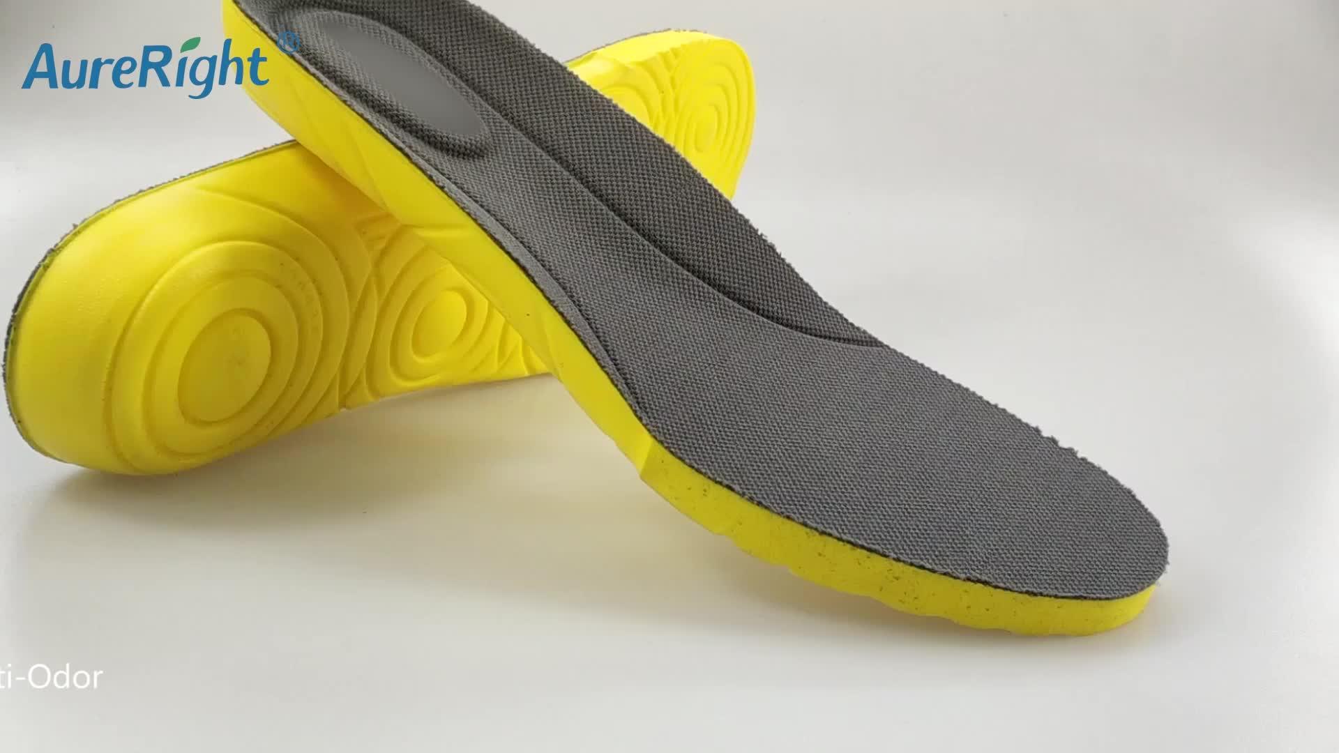 Kustom Dukungan Lengkungan Kaki Olahraga Orthotic Insole untuk Sepatu