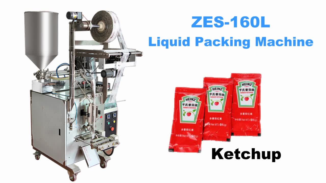 Automatic Liquid Sauce Water Pouch Packing Machine