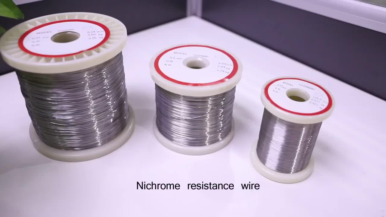 ni80cr20  ni 80  nicr 8020 nichrome wire for heating elements