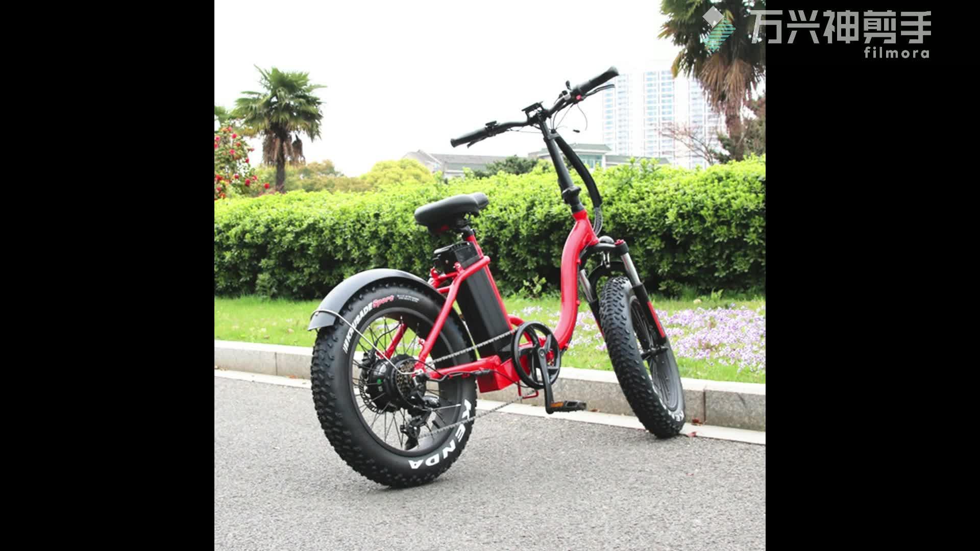Trung quốc tốt nhất điện xe máy xe đạp 48 V 750 W xe đạp điện 20 ''mini trọng lượng nhẹ giá rẻ giá ebike