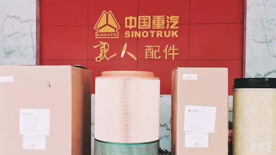 Sinotruk HOWO trailer van dump xe tải, phụ tùng WG9000360525