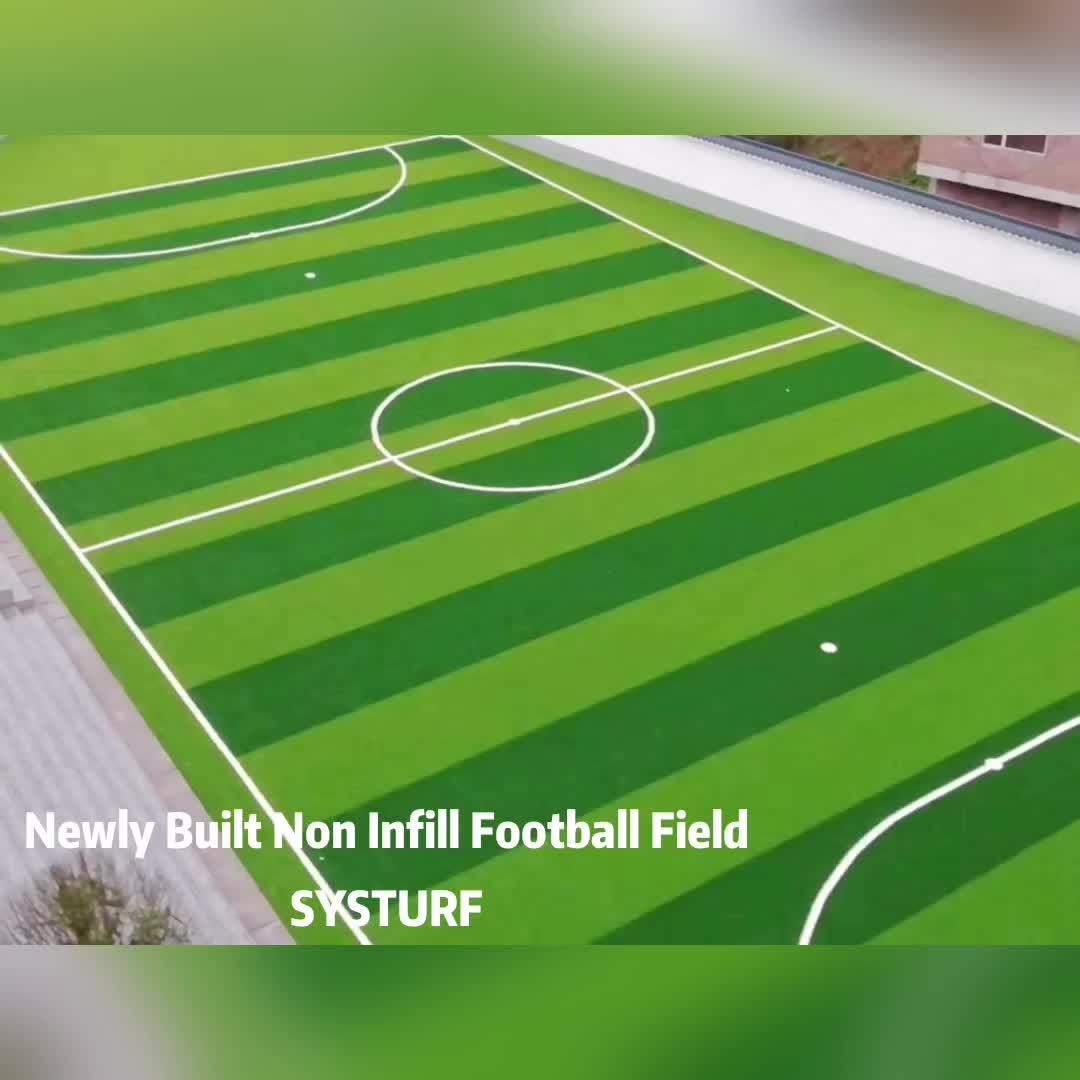 5vs5 Mini Soccer Grass Non Infilling Football Grass  Futsal Artificial Grass