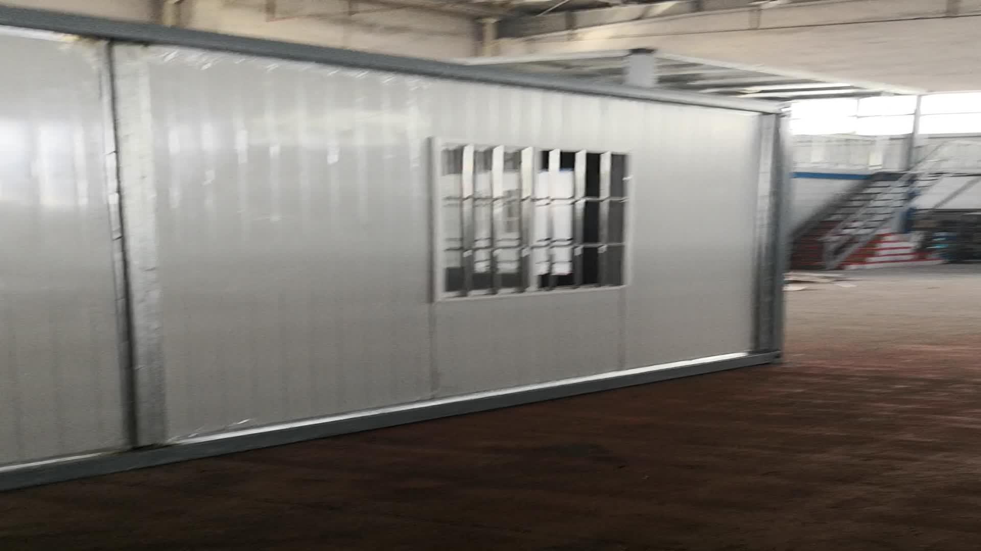 Çin demonte konteyner Ev ve konteyner ev çalışma kampı ve madencilik kampı prefabrik ev