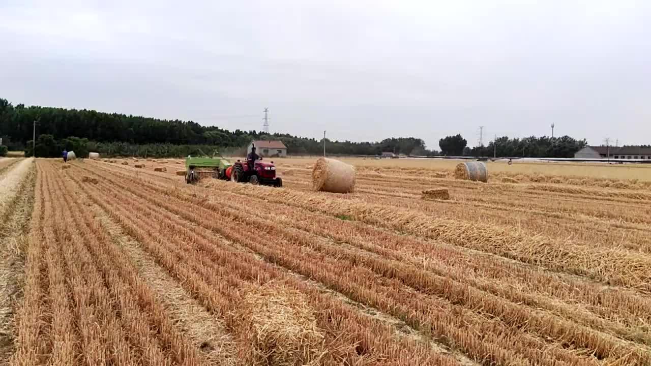 Горячая Распродажа мини квадратный сеноуборочный комбайн в сельском хозяйстве