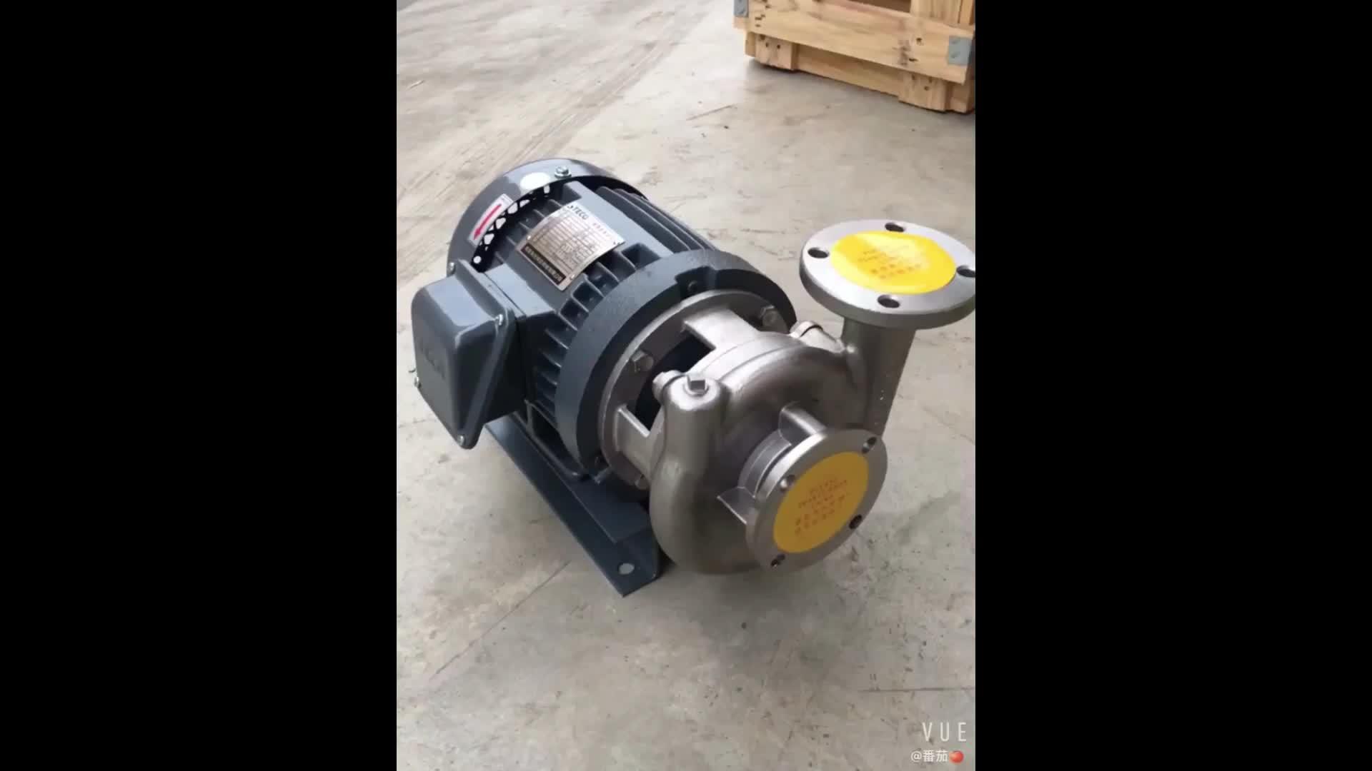 China 0.75KW 1HP 316 Sus Edelstahl Abwasser Pumpe Mit Niedrigem Preis Verkauf