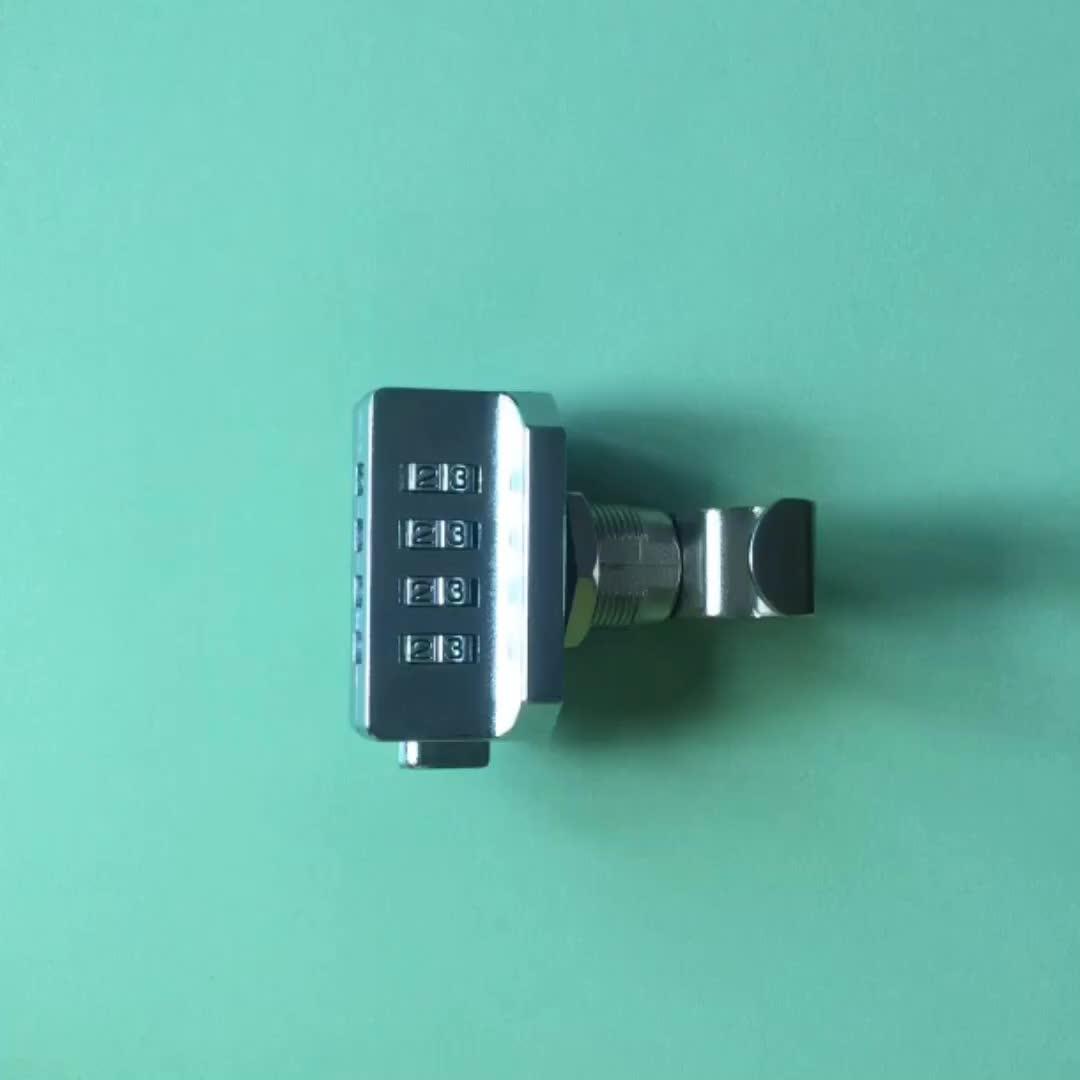 4 digits combi cipher cabinet lock cam lock