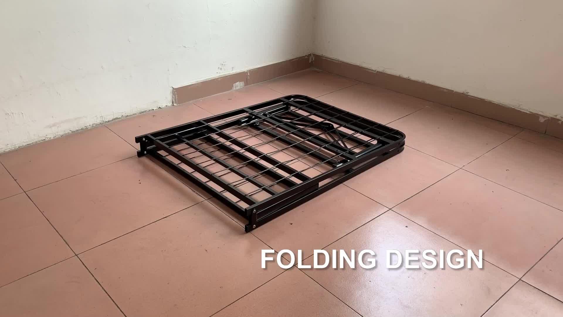 NEW Smart Base Mattress Foundation Platform Bed Metal Frame Folding ALL SIZE