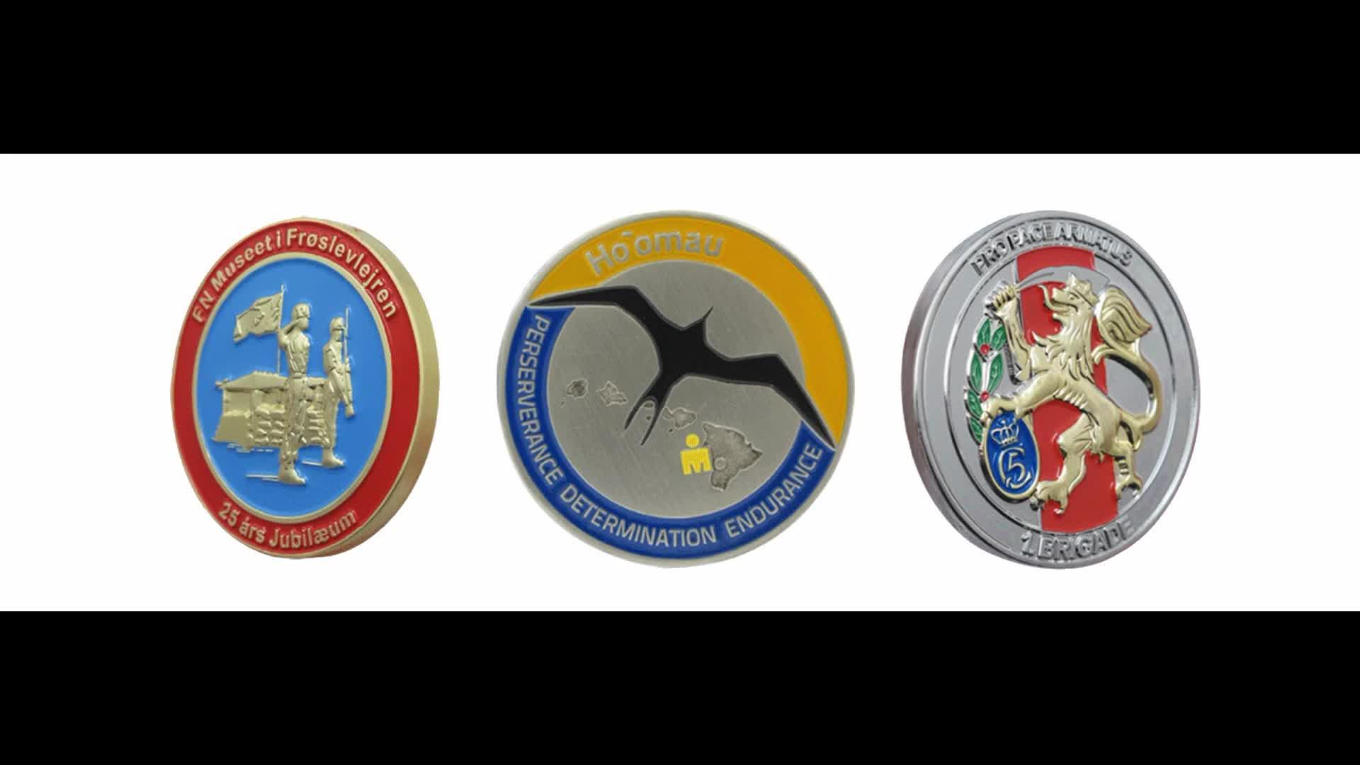 3D bronze color UAE pakistan saudi arabia american souvenirs airforce us navy honor respect devotion challenge coin dealers