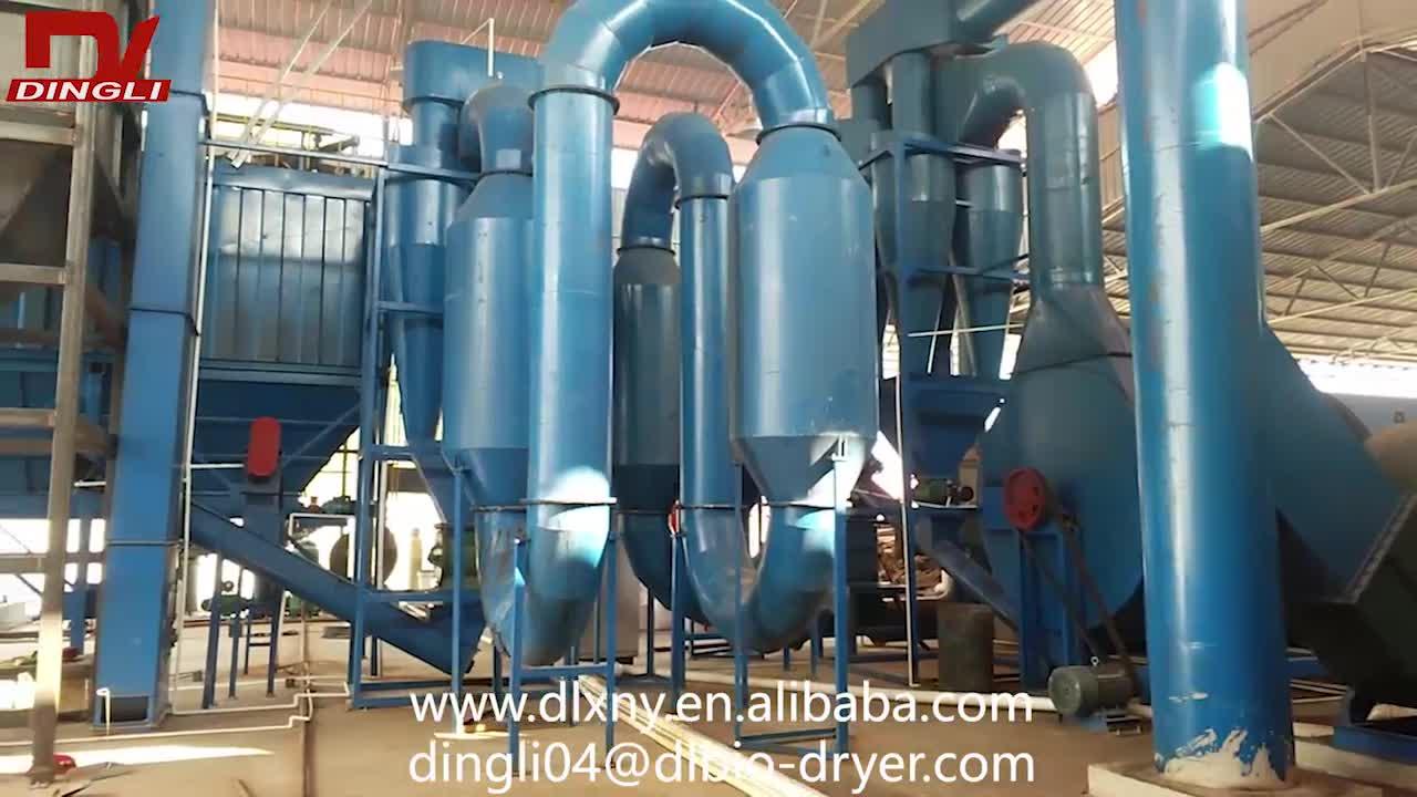 De Remoção de Pó automático de Soja Planta de Secagem De Resíduos De Equipamentos para Processamento de Soja