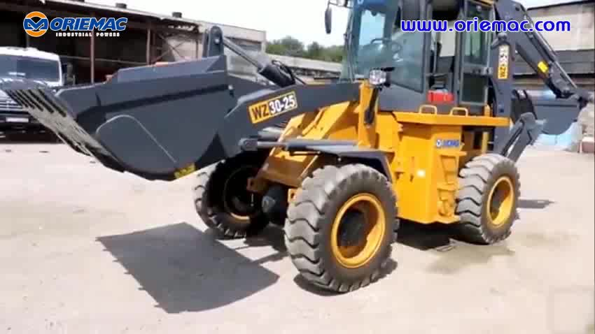 new backhoe prices WZ30-25 parts Backhoe Loader with 1 cub meter