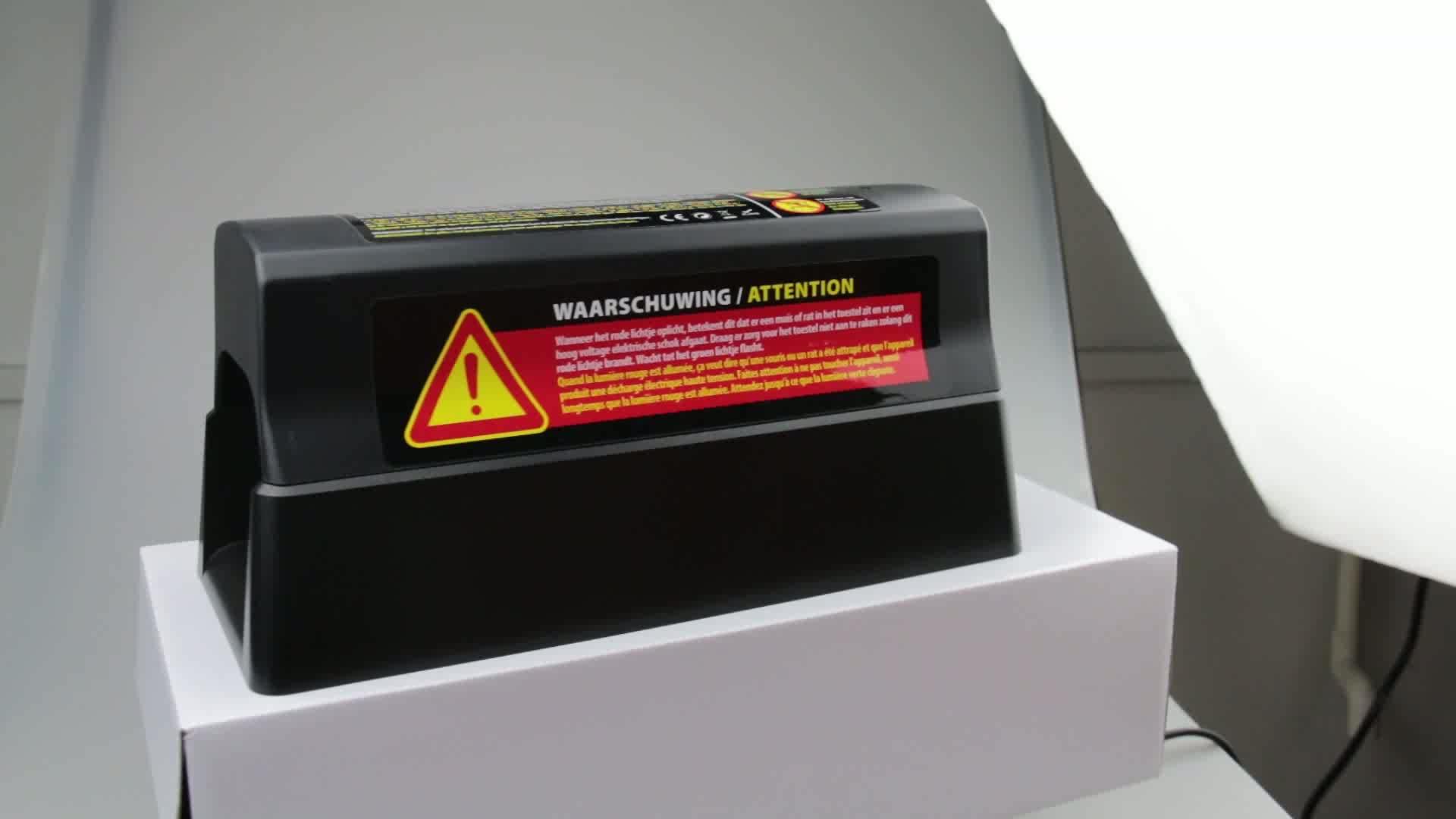 Different black battery electric zapper box mouse rat rodent killer trap