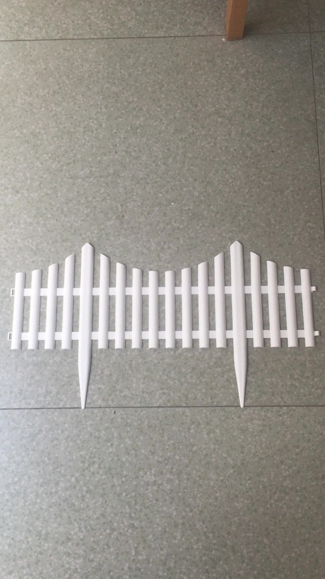 plastic gardeng fencing lawn edging fence