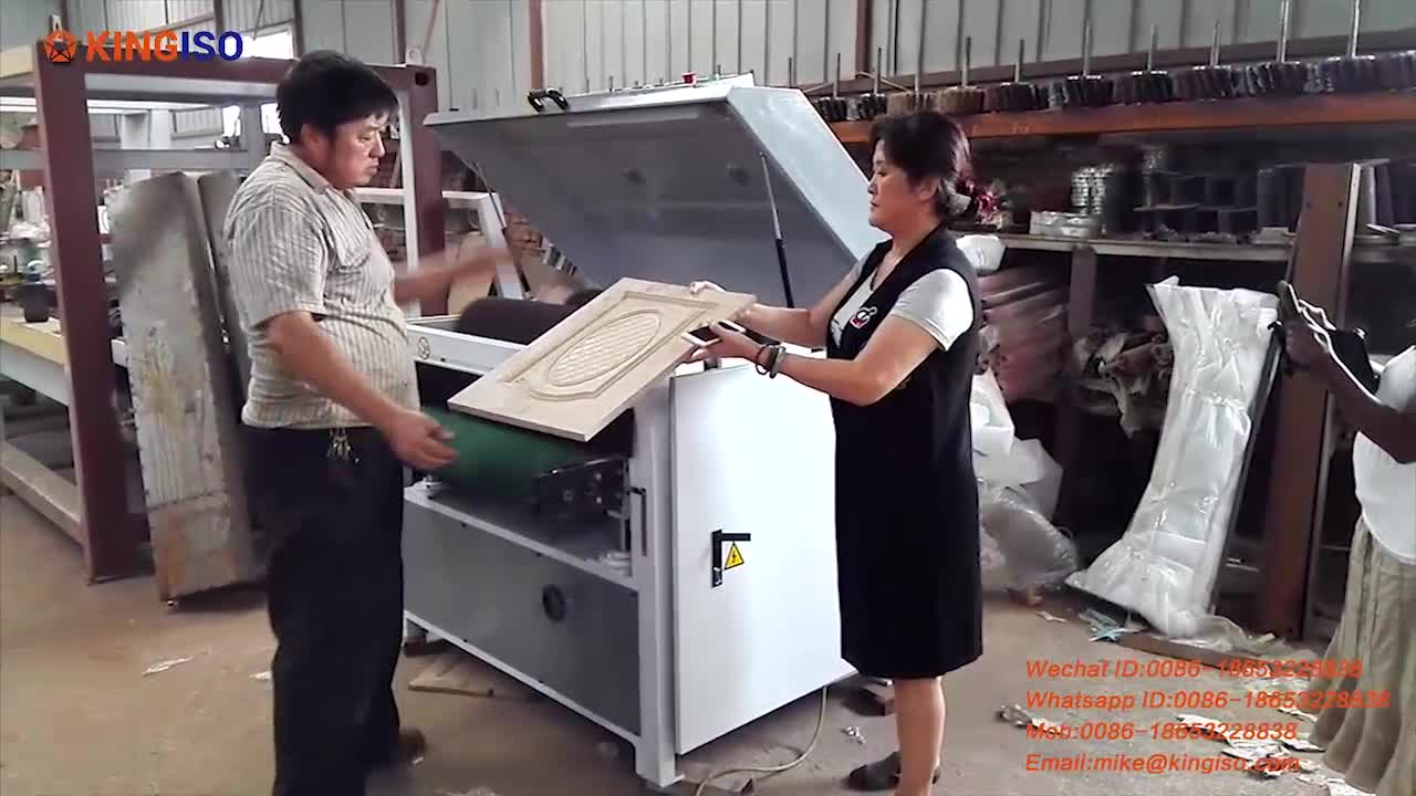 Woodworking Four Roller Sanding Machine/Drum Sander for Sale