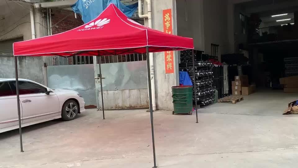 Hoge kwaliteit goedkope prijs pop up canopy tent gemakkelijk te openen outdoor met zijwand
