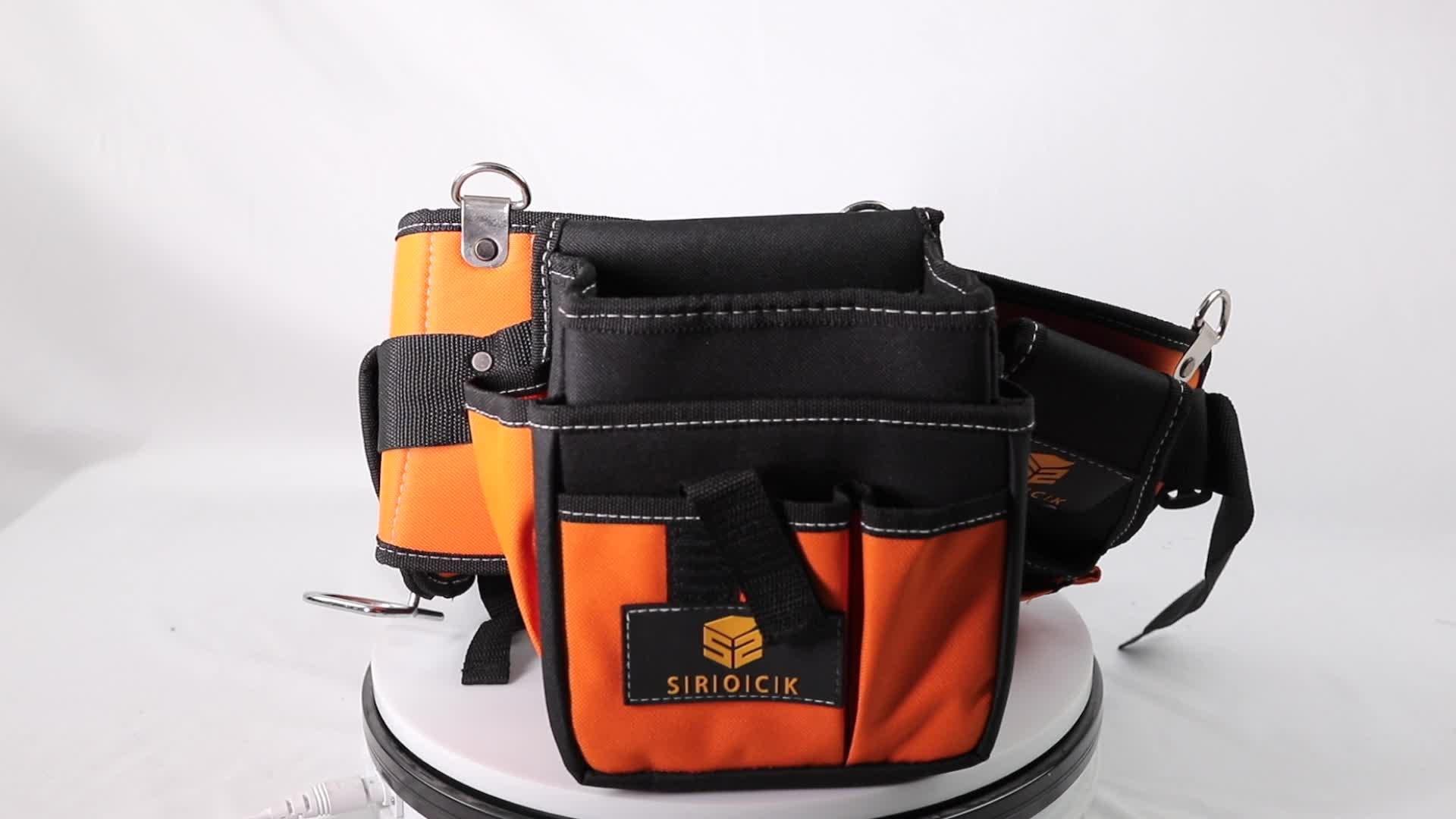 Polyester garden waist light tool belt work vest