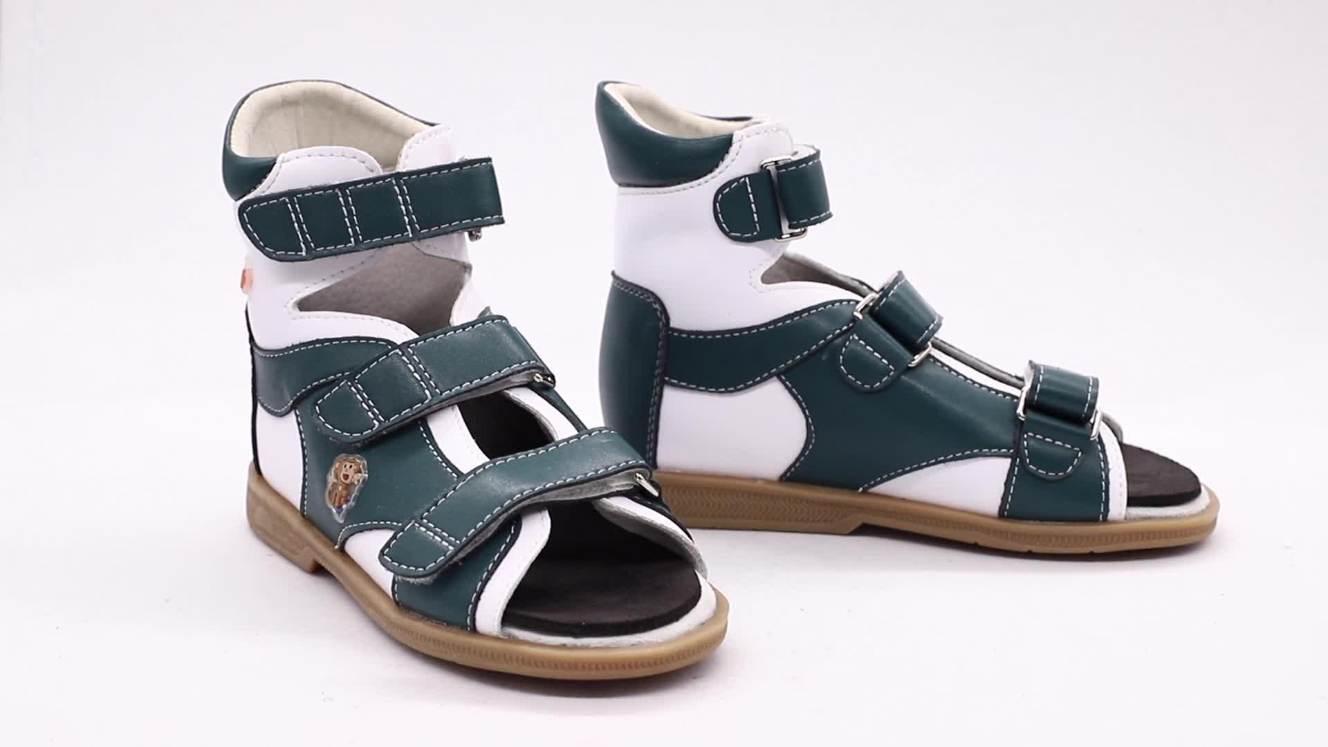 Sandales orthopédiques pour enfants   Chaussures d'été respirantes et à la mode, sandales orthopédiques pour enfants