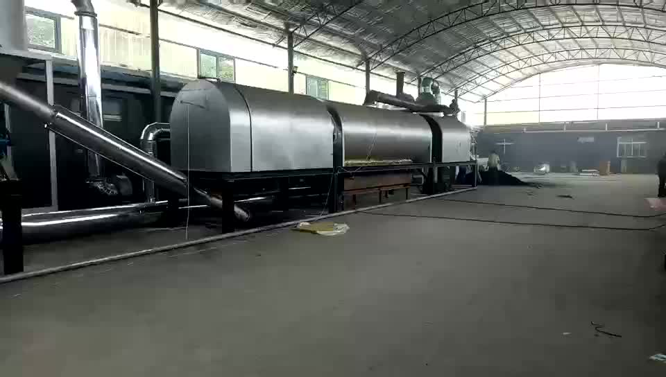 Yisonhonda pequeña cáscara de coco máquinas de producción de carbón activado línea de producción