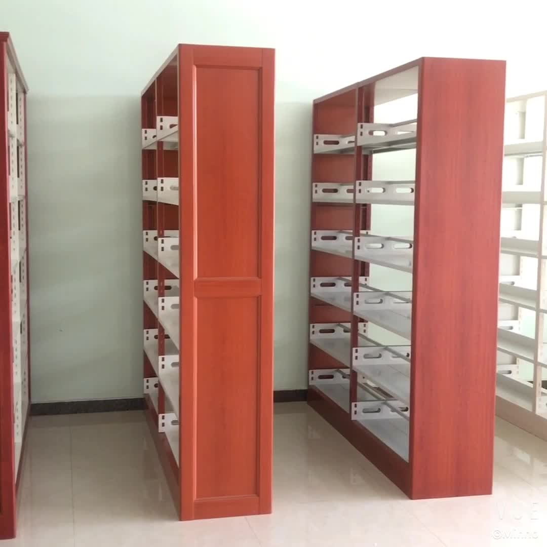 Wooden Study Room: Library System Supplies Wood Study Room Bookshelf