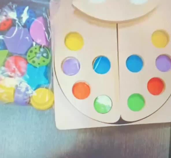 ไม้เกมบล็อก Shape Sorter ของเล่นคลาสสิกของเล่นพัฒนาการของเล่นสำหรับเด็ก 2-5 ปีเด็กชายหญิง