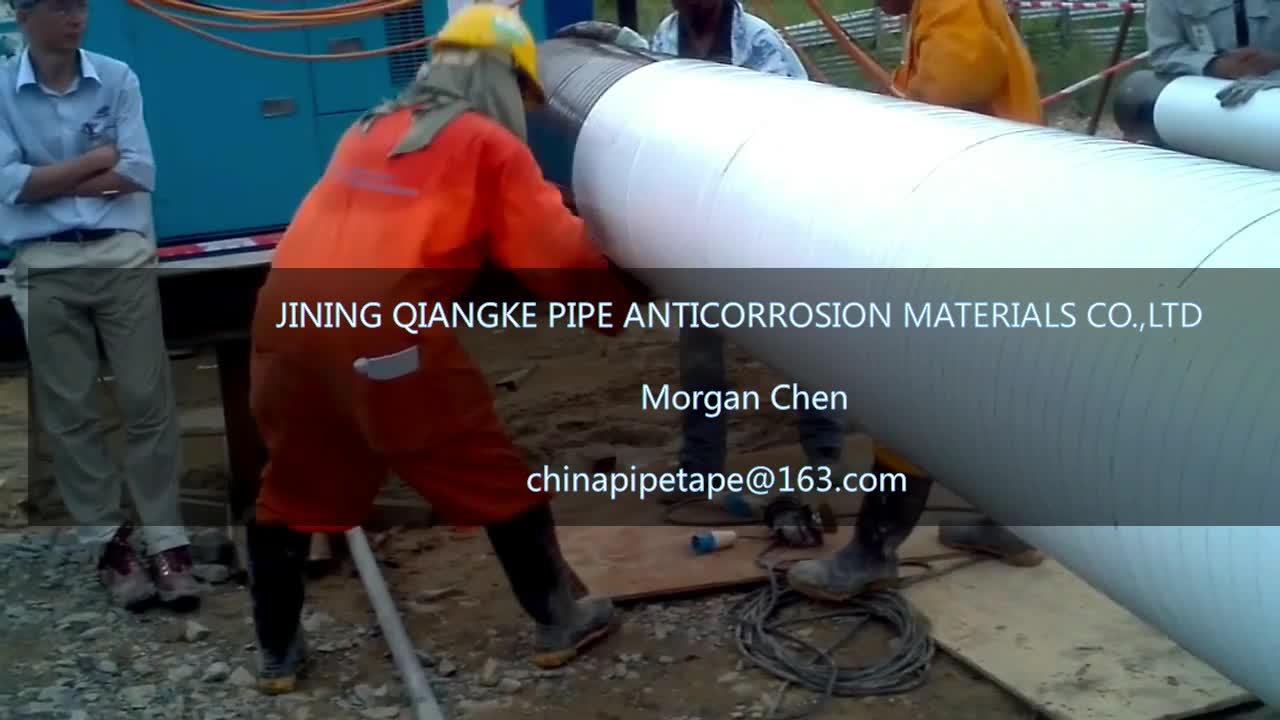 Rohr verpackung weiß korrosionsschutzband mit 15mil * 4 zoll * 200ft