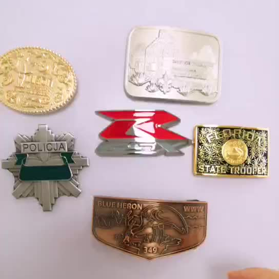 China supplier custom cheap clip copper belt buckle