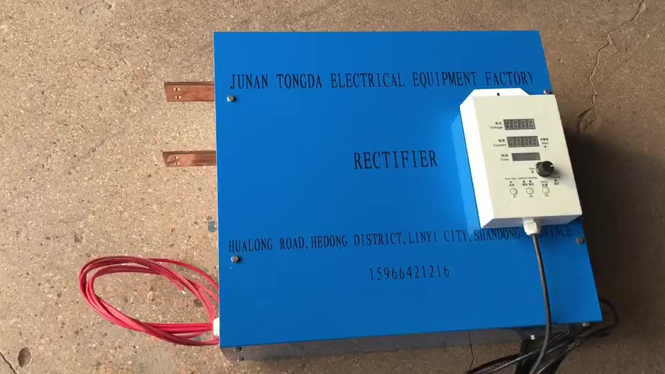 electro plating equipment rectifier / brass electroplating machines / igbt rectifier chrome plating