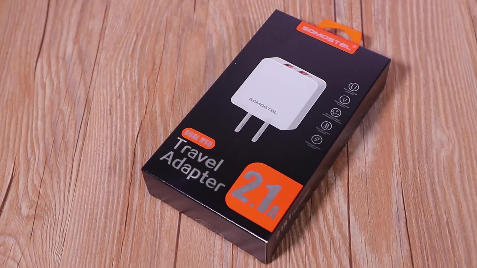 [Somostel] A13 חדש במגמת מוצרי סין מפעל OEM ODM 2 usb מטען cargadores דה celular עבור iphone x xr