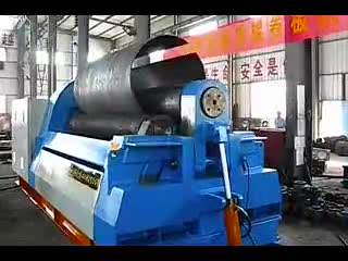 Cnc 3 Roller Plate Rolling Machine/ Roller Bending Machine For Sale