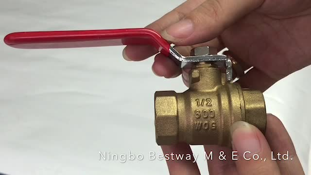 BWVA 100% on-time shipment protection better quality ms 58 ball valve