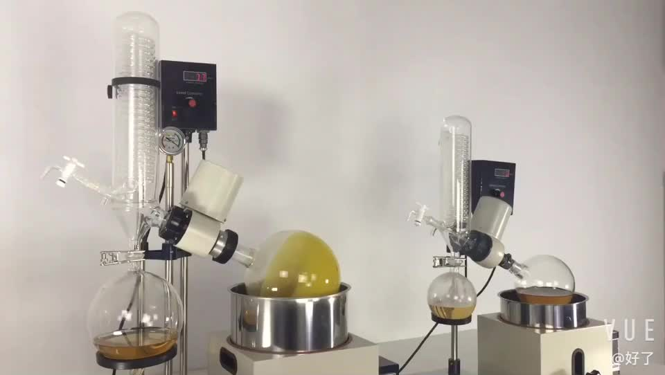 2L 3L 5L Desktop rotary evaporator with vacuum condenser for Drying and Recovery