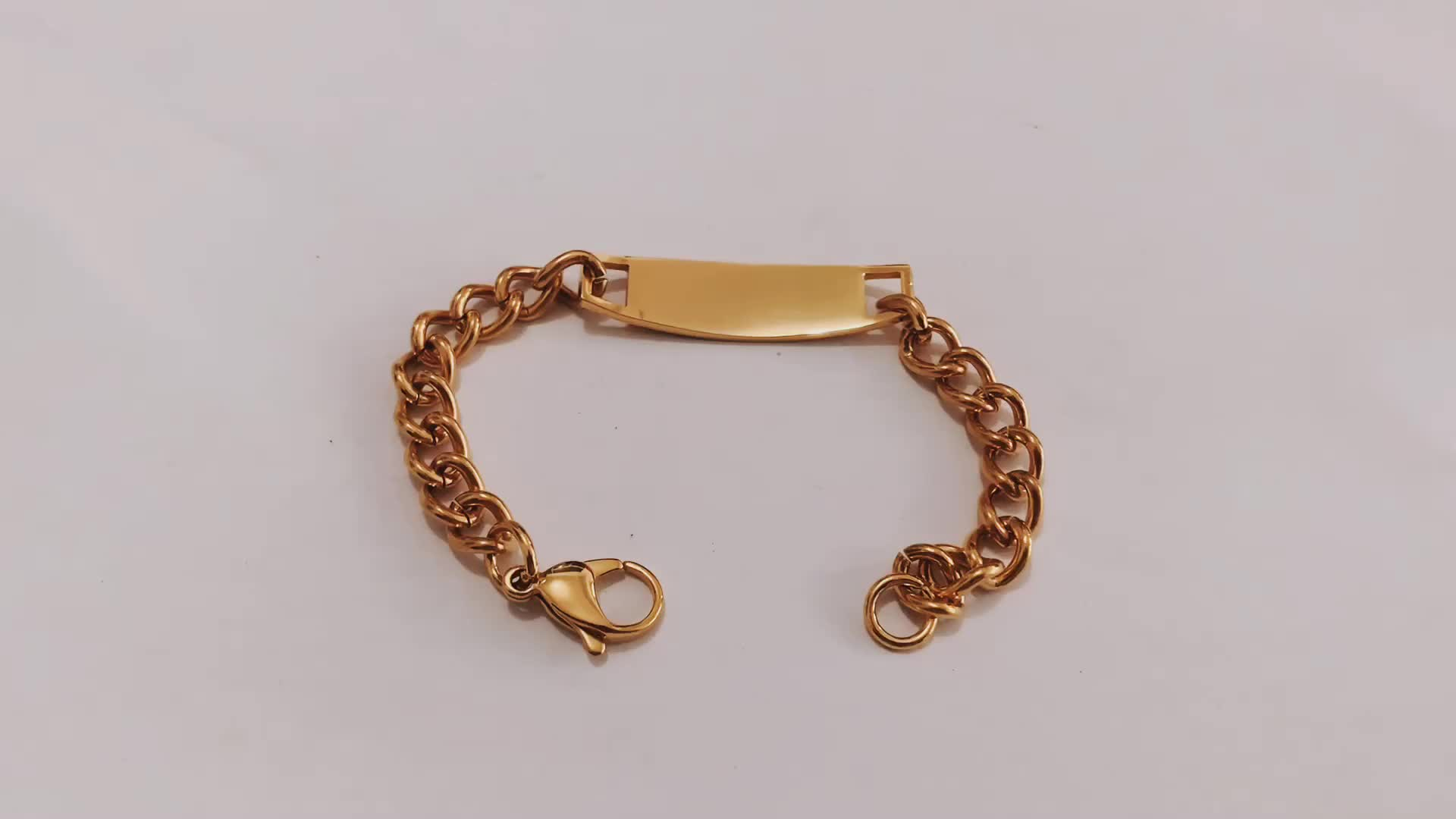 Yiwu manufacturer wholesale blank bracelet medical alert bracelet