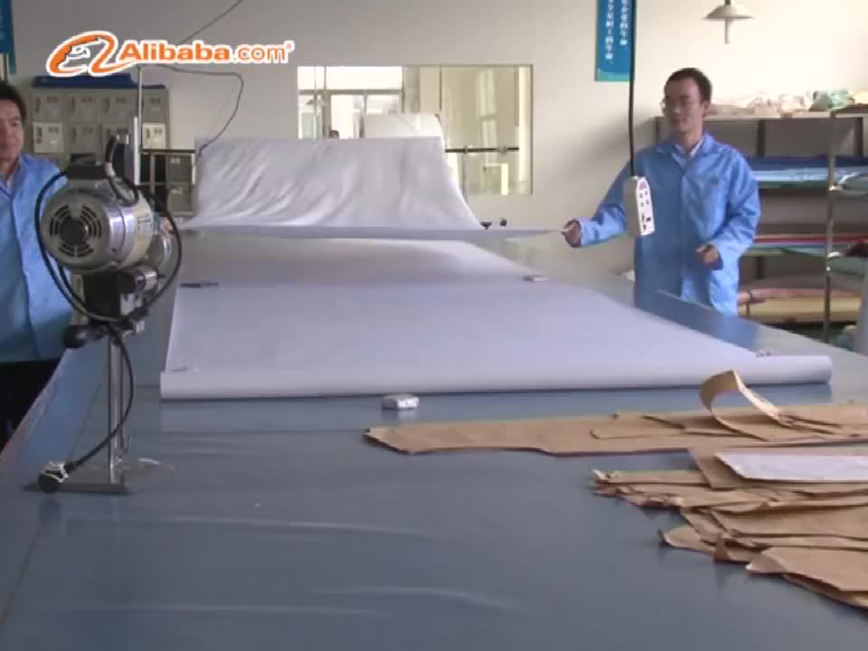 China Supplier Polyester Antistatic Fabric Cleanroom ESD Garments PL99S5