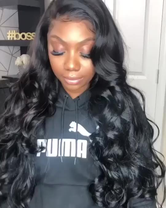 Wholesale Human Hair Wigs For Black Women Brazilian Virgin Cuticle Aligned Human Hair 13x4 Lace Front hd Loose Wave Wig