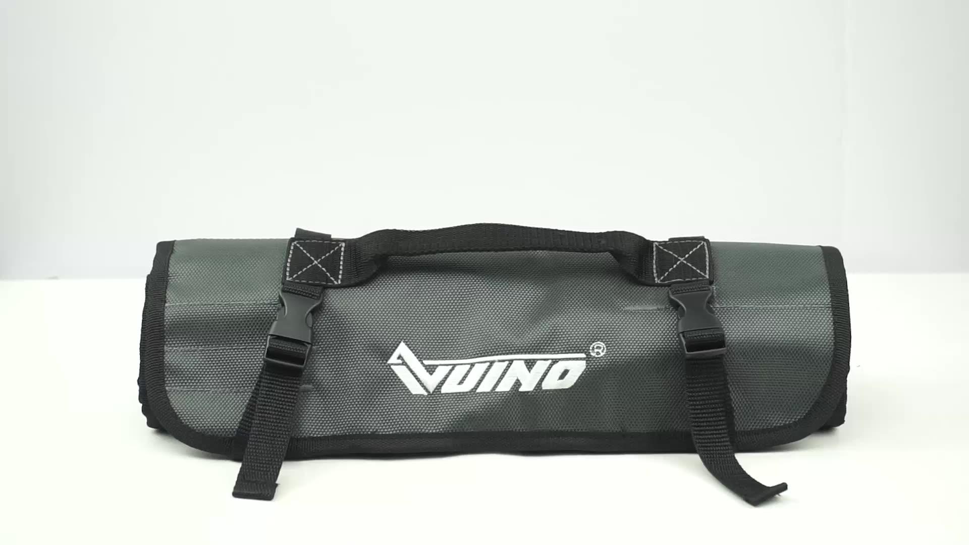 VUINO waterproof Lightweight Electrician Multifunctional roll tool bag