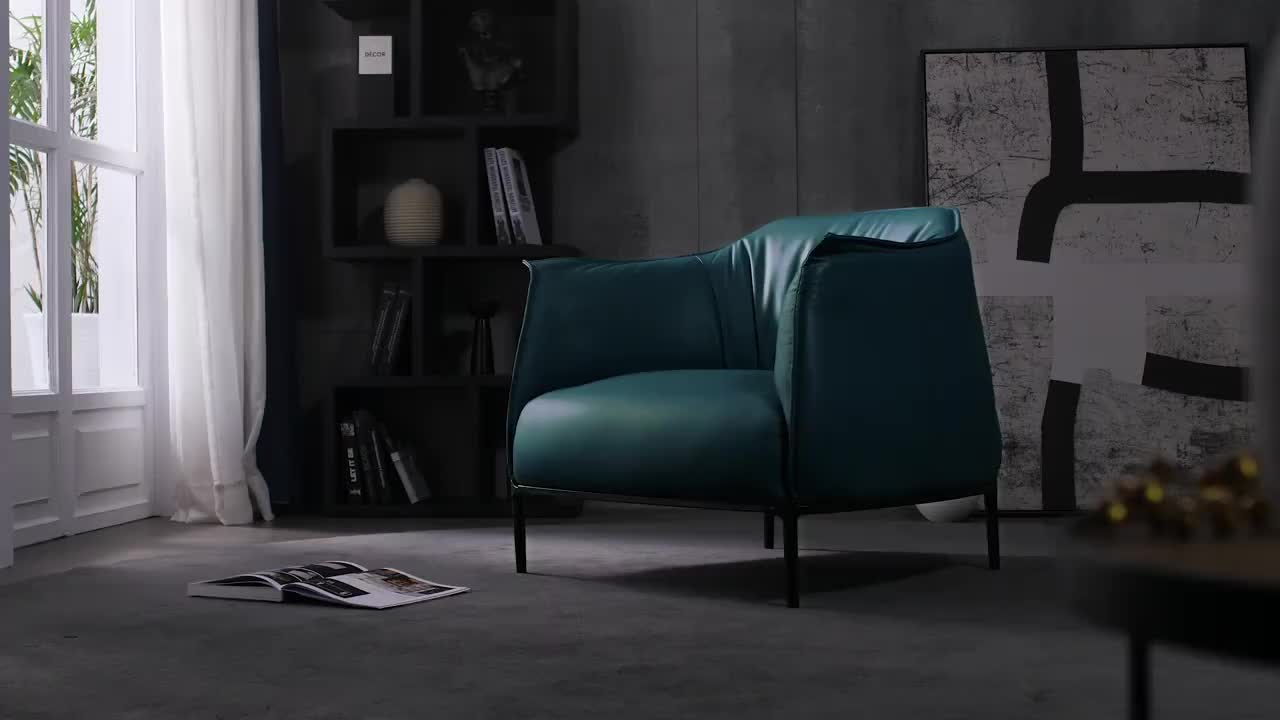 Muebles modernos para el hogar, sofá de lujo para sala de estar, sofá individual, sillón