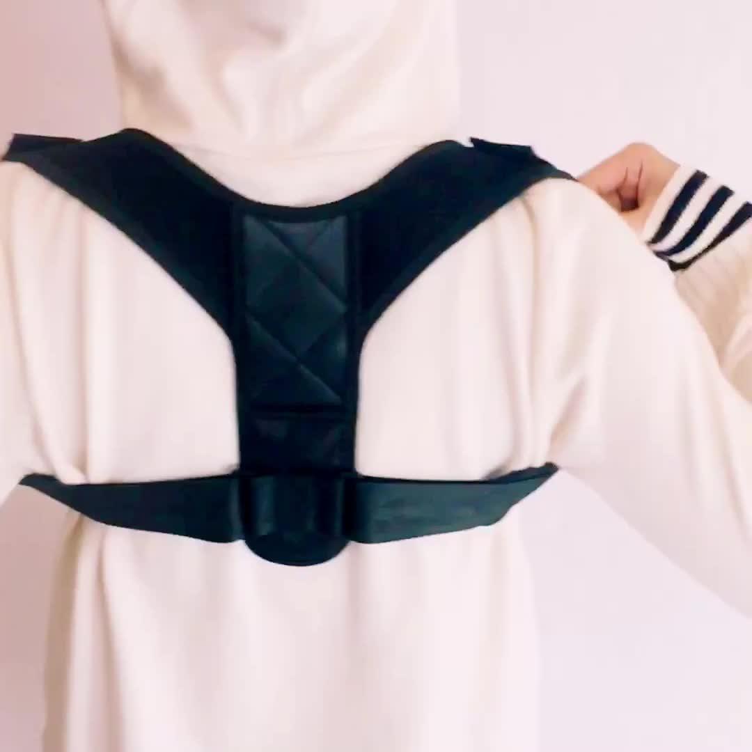 Cina fabbrica di supporto lombare elastico wrap spalla indietro brace per Correggere Indietro Postura